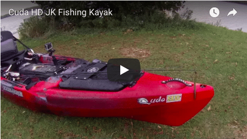 Jerry's New Cuda HD Fishing Kayak