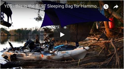 Kayak Camping gear review – The Big Agnes Gunn Creek 30