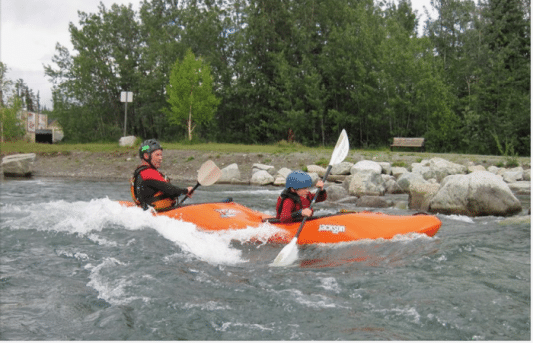 Tips for if (when?) your kid becomes a better kayaker than you…