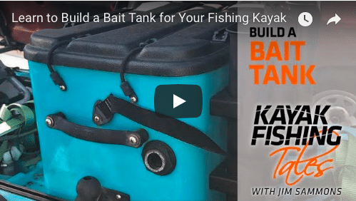 How to build a kayak bait tank