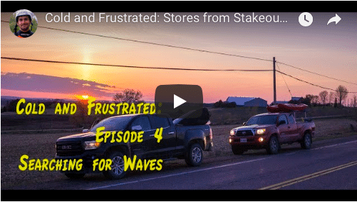 Cold and Frustrated:L Stories from Stakeout Episode 4: Searching for waves