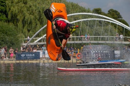 Bedford River Festival 2018 Big Air Ramp