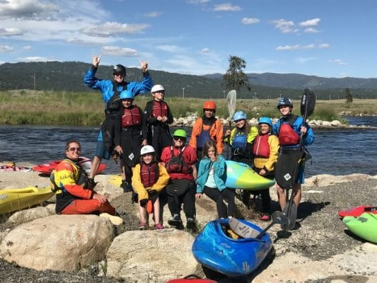 Kelly's Kayak Academy: Idaho 2018