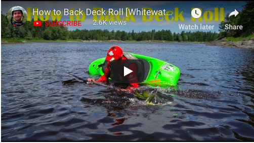 How to Back Deck Roll with Seth Ashworth