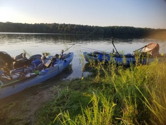 My FLW Kayak Tournament Experience