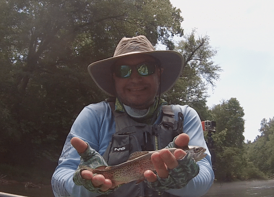 My First Kayak Trout