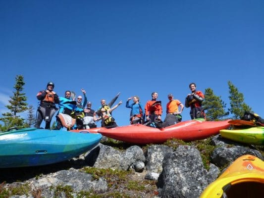 Freestyle Kayaking Destination: Whitehorse, Yukon Territory