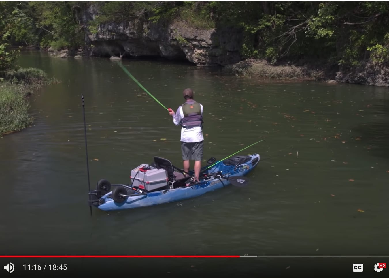 VIDEO: Kayak Fishing for Ozark Smallmouth, Hooked on Wild Waters S4 E6