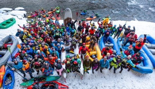Shoshone NYD 2019- The First Day of the New Paddling Season!