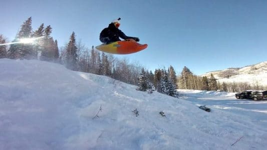Big Air Kayak Sledding With Jackson Kayaks