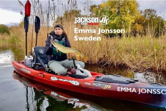 JK FISHING TEAM EUROPE: EMMA JONSSON, SWEDEN