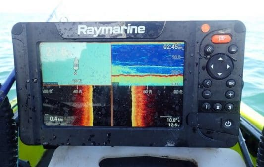 Rigging and trying the new Raymarine Element