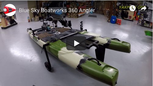 Let's take  a look at the Blue Sky Boatworks 360 Angler