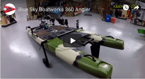 """The Blue Sky Boatworks 360 Angler  """"Let's Have A Look"""""""