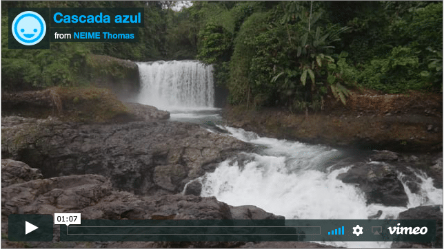 Ecuadorians waterfalls