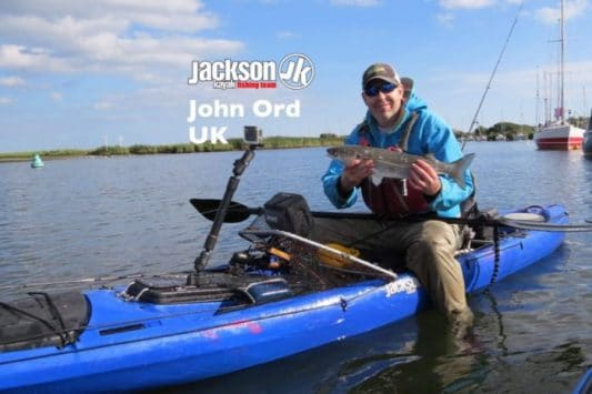 JK FISHING TEAM EUROPE: JOHN ORD, UK
