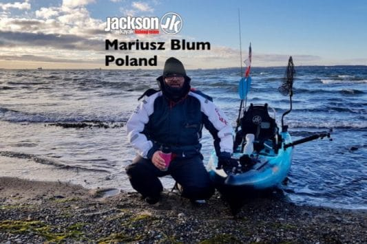 JK FISHING TEAM EUROPE: MARIUSZ BLUM, POLAND
