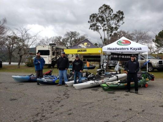 Jackson demo day on lake Berryessa.