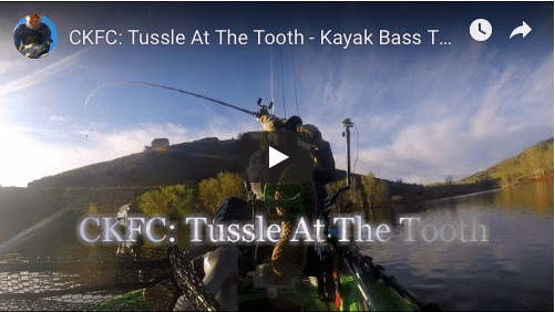 CKFC: Tussle At The Tooth – Kayak Bass Tournament