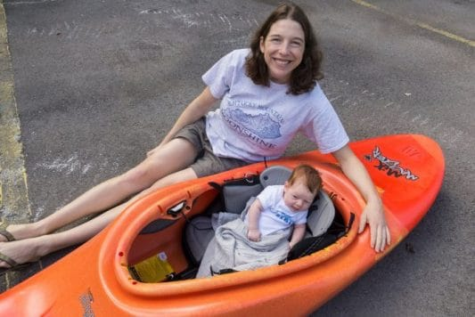 How to get in paddling shape after baby