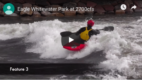 New Whitewater Park in Eagle, Colorado