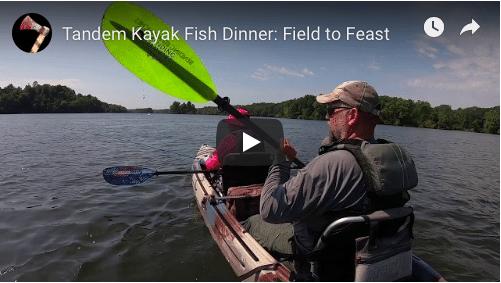 Tandem Kayak Fish Dinner: Field to Feast