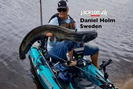 JK FISHING TEAM EUROPE: DANIEL HOLM, SWEDEN