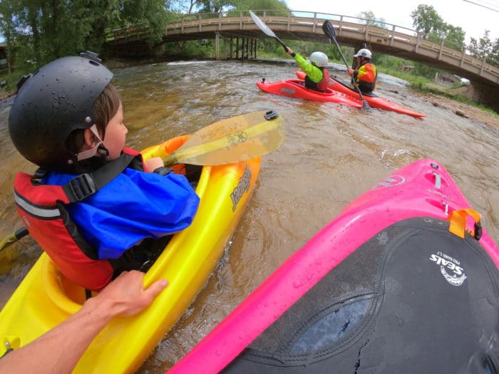 Teaching Kids to Kayak
