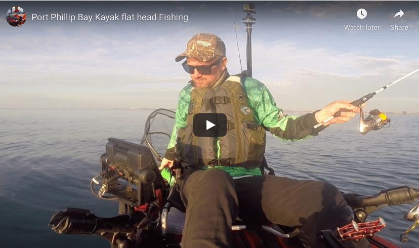 Port Phillip Bay Kayak Flat head fishing