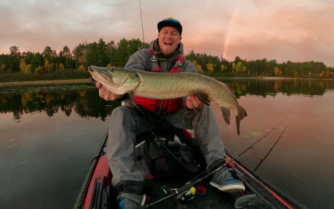 Musky and Bass Kayak Fishing in Canada – Part 1