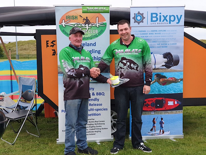 Irish Kayak Angling Donegal Competition