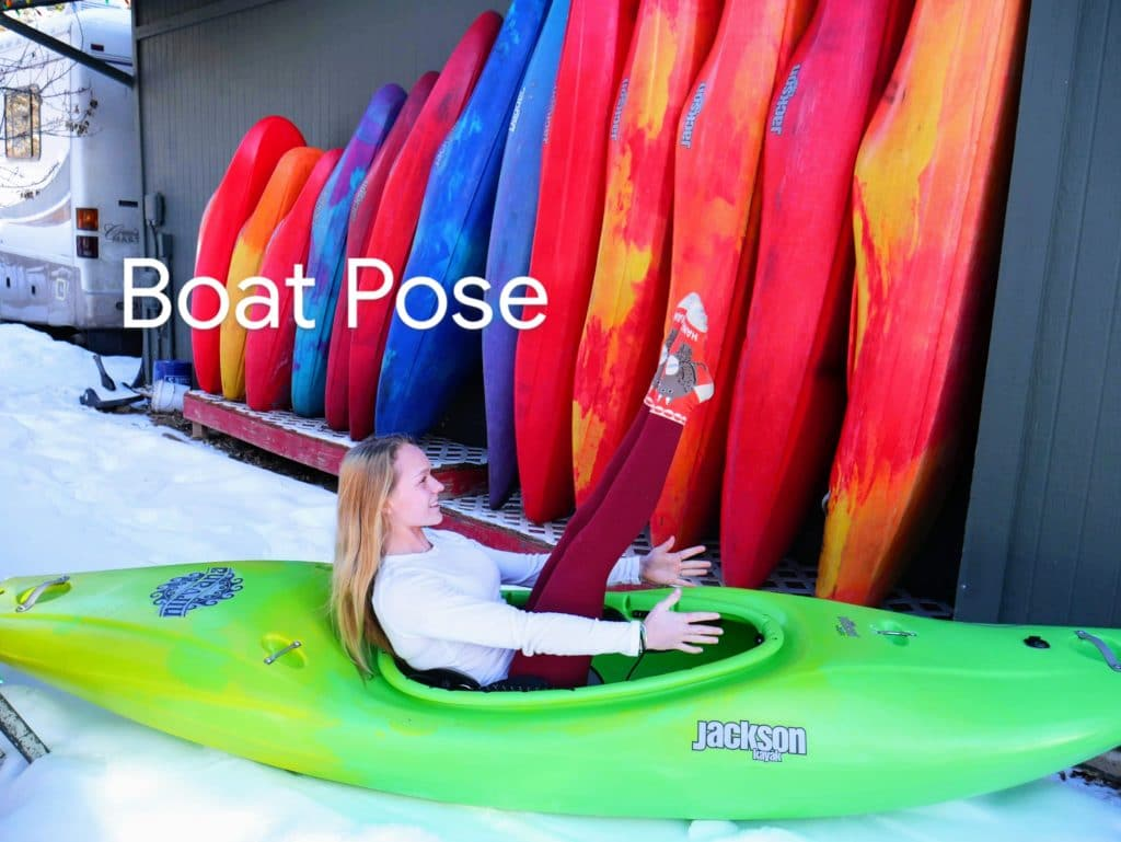 Paddlers Kayak Yoga - KAYOGA