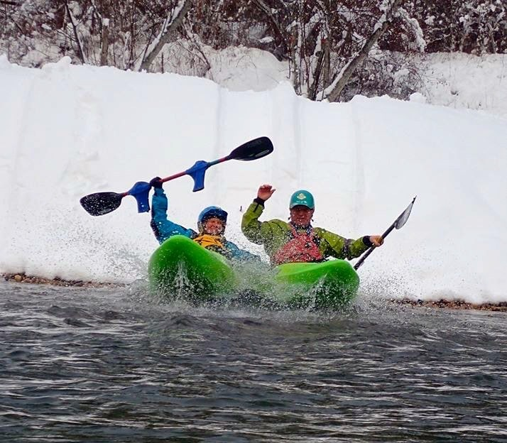 Kicking off the 2020 Paddling Season with Some Giggles