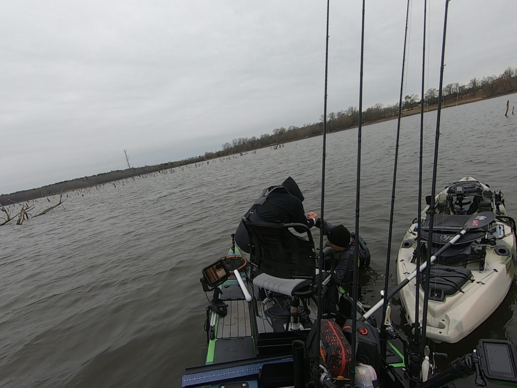 Kayak Fishing - Expect the unexpected, always