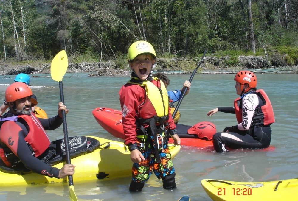 Growing up Kayaking
