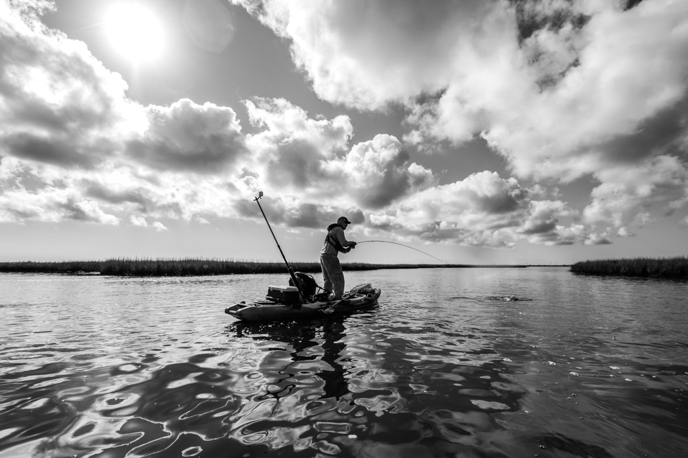 pro photography tips for kayak anglers