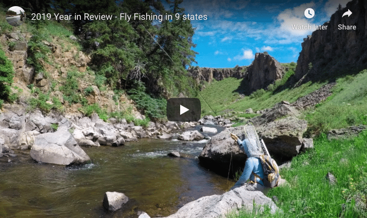 2019 Year End Review – fly fishing thru 9 states