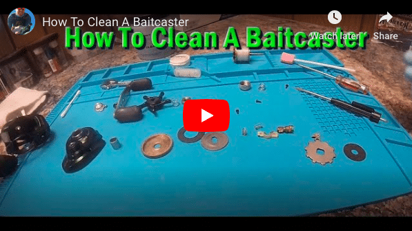How To Clean A Baitcaster