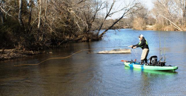 Kayak Fishing Stream Secrets