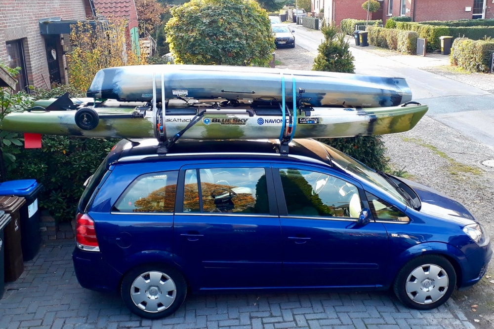 Transporting Your Fishing Kayak on Top of a Car