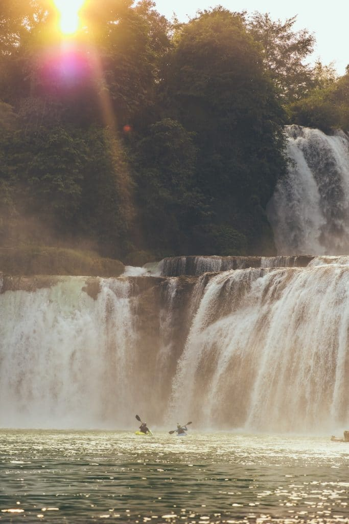 The Detian Waterfall Project: China