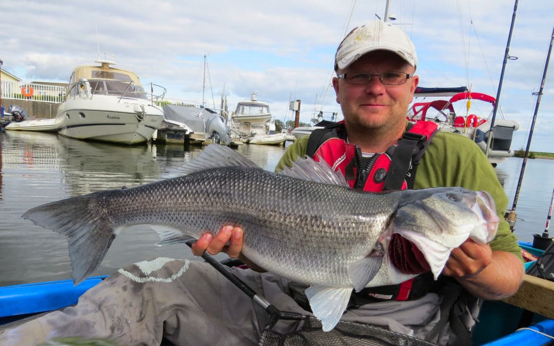 Kayak Bass Fishing with Sam Baxter