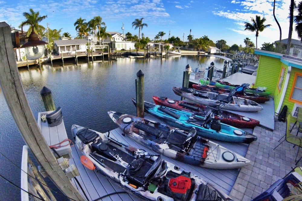 Great Kayak Fishing Holiday in Southwest Florida
