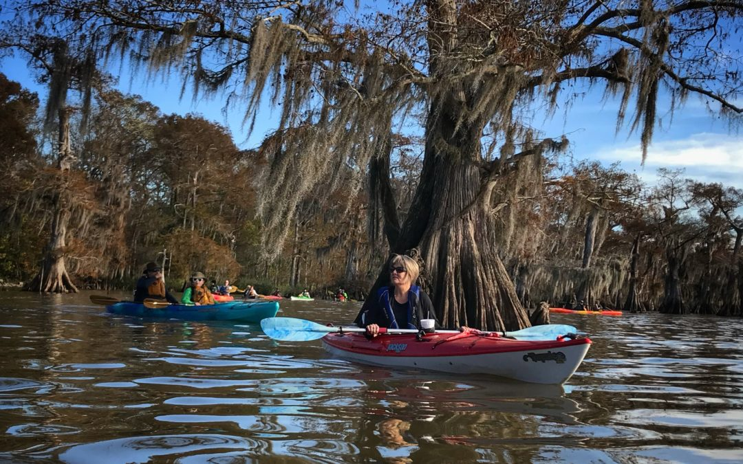 Pack and Paddle Tells You To Get Swampy