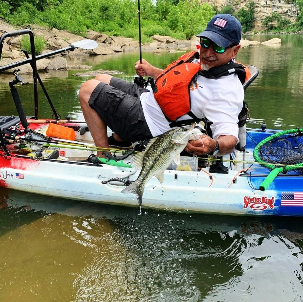 Kayak Fishing Bass Bingo