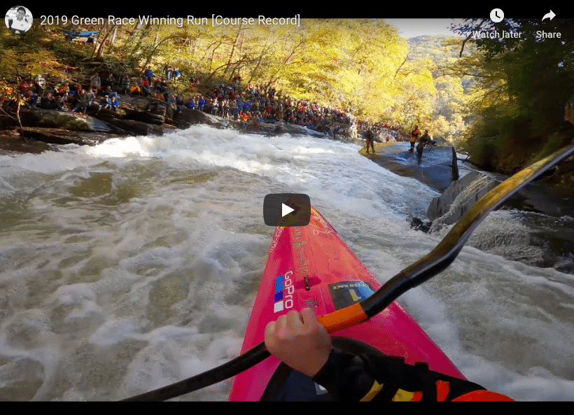 """A season of records, but I know I can still go faster""; Green Race and Russel Fork"