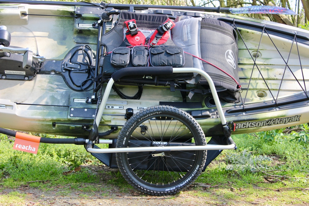 Kayak Fishing Bicycle Cart