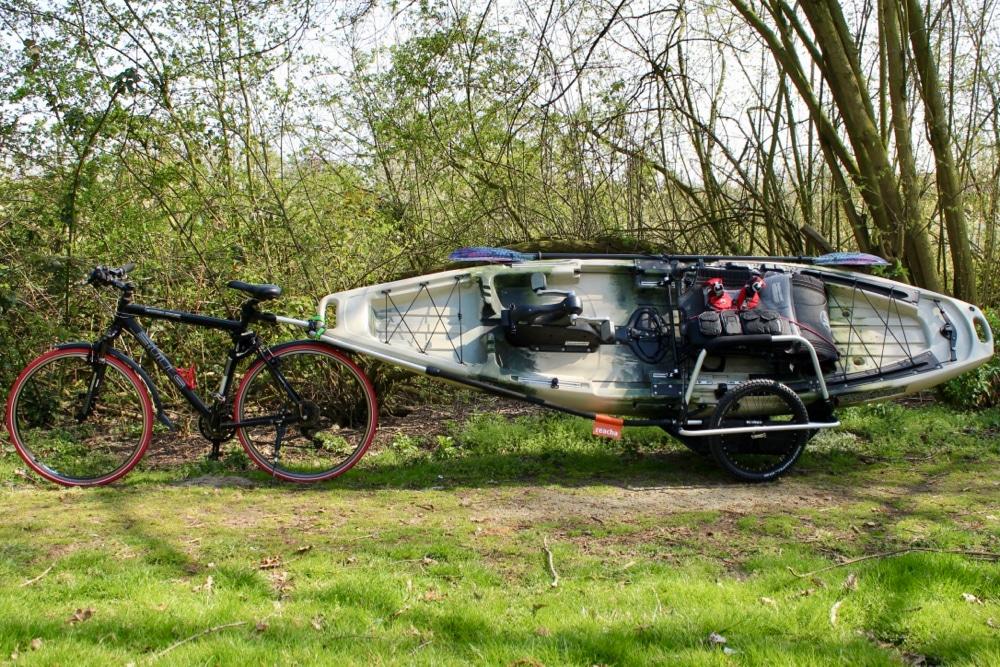 Bike to the fishing spot!