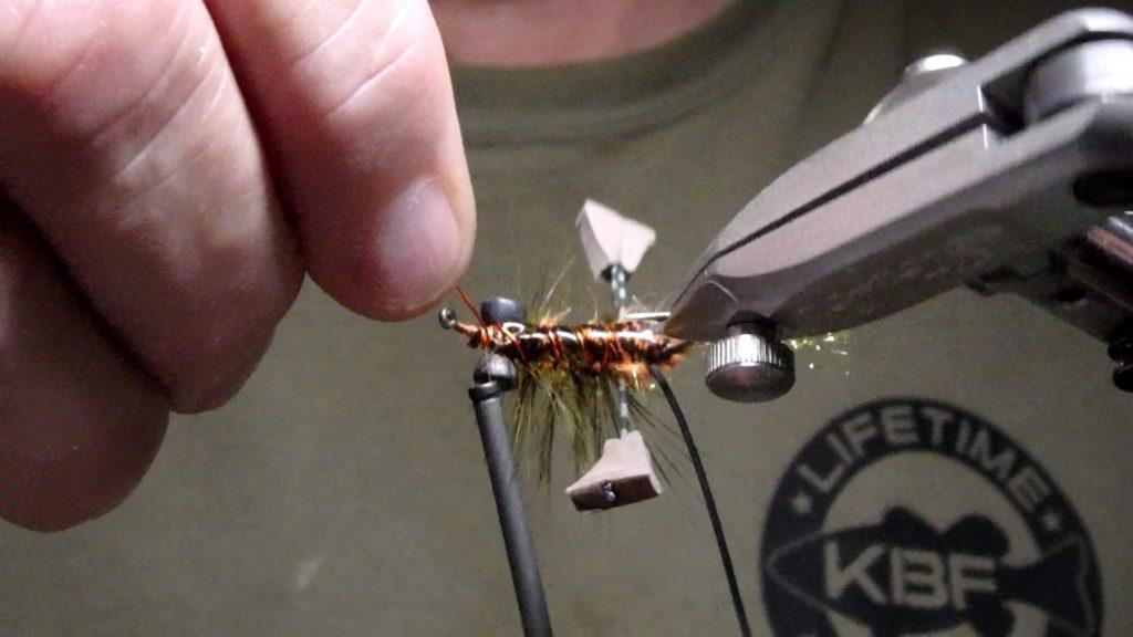 Tying Al Ritt's Fighting Crawfish