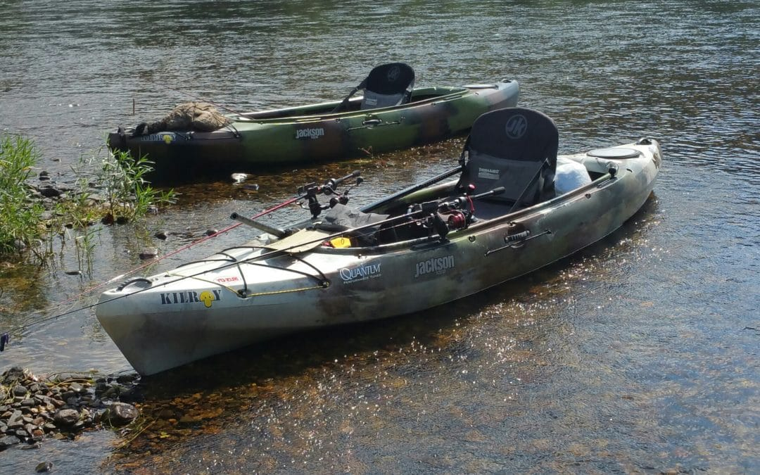 Kilroy was here and still is… | Kayak Fishing